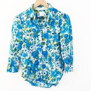 HD in Paris Hanalei Floral Button Down Shirt